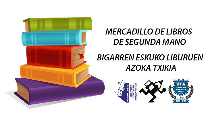 Mercadillo libros de segunda mano 2017 ampa sustapen - Mercadillo de segunda mano barcelona ...